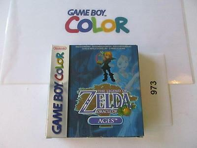 nintendo gameboy color: THE LEGEND OF ZELDA oracle of ages -boxed-
