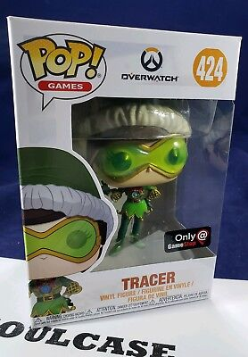 Tracer Christmas Skin.Funko Pop Tracer Game Stop Exclusive Overwatch Winter Christmas Elf Skin 424