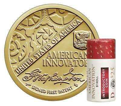 2018 D American Innovation $1 25 Coin Roll Introductory Coins UNOPENED