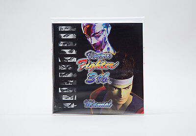 Manual / Mode d'Emploi Virtua Fighter 3tb (DC) - Mint / Comme Neuf