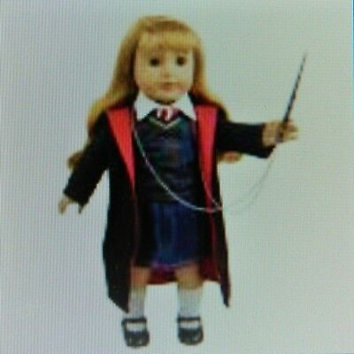 Harry Potter inspired Outfit Fits American Girl & 18 Inch dolls- no wand.