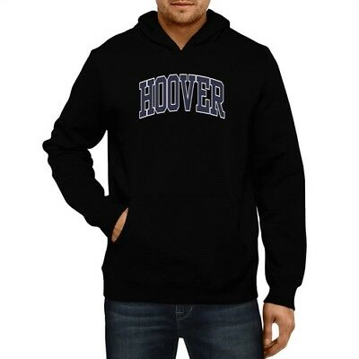 Hoover Athletic Applique Embroidery Hoodie Men Women