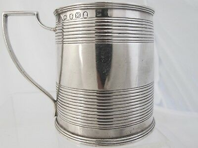 George III silver child's or Christening mug, Hannah Northcote London 1807