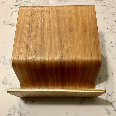 Eric Pfeiffer For Evernote Bent Ply Laptop Stand Wooden Walnut Veneer