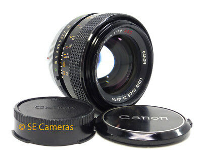 Canon Fd 55Mm F1.2 S.s.c. Fast Prime Lens *very Good Condition*