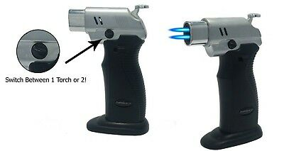 Switchable Double Torch Lighter