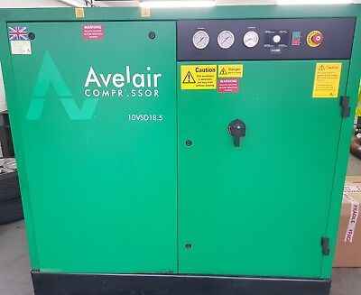 Avelair 18.5 VSD 10Bar Variable Speed Screw Air Compressor