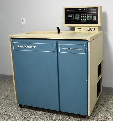 Beckman Coulter L8-60 Floor UltraCentrifuge 50000 RPMs 208V 12.1 Degrees C