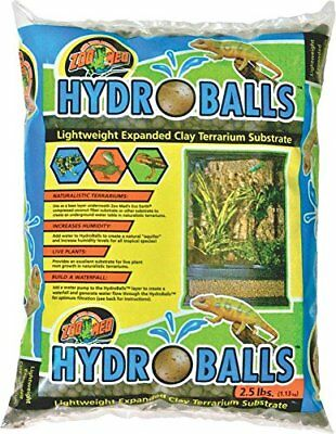 Zoo Med T4016720 Hydroballs Substrate aus Ton (w65)
