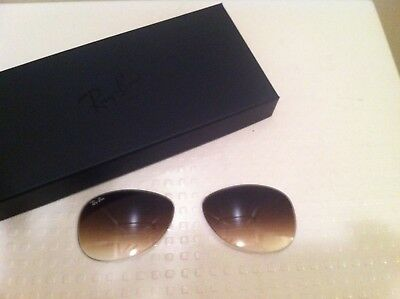 81aab599aa8 Ray Ban NEW RB3362 Authentic Cockpit Replacement Lenses Brown Gradient 56MM