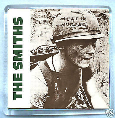 The Smiths-Meat Is Murder Fridge Magnet Morrissey