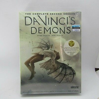 DaVinci's Demons DVD Complete Second Season NEW! Same Genius, New World Y2-34