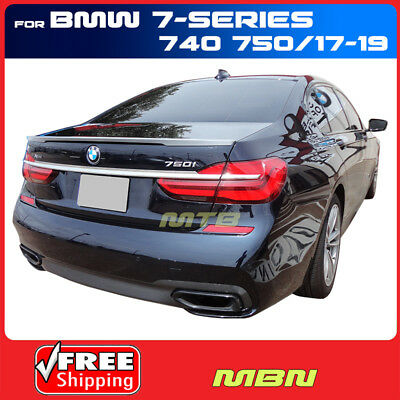 PRE-PAINTED FOR BMW 5-SERIES  4DR 2011-2016  FLUSH MOUNT NO DRILL 3M SPOILER