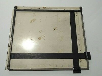 Gnome Vintage Drawing Board with Measurements in Inches British Made