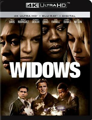 Widows 4K Disk ONLY With Case, Cover & Slipcover