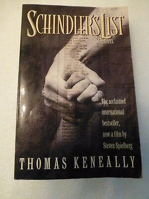SCHINDLER'S LIST by THOMAS KENEALLY, PAPERBACK