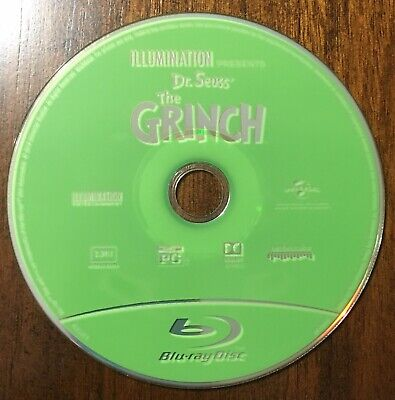 Dr. Seuss' The Grinch Blu-Ray Disk FREE SHIPPING
