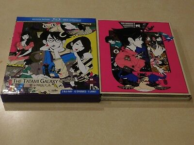 The Tatami Galaxy (Blu-Ray) Official French Release [2 Disc] Free Fast Shipping