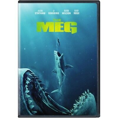 The Meg (DVD) REGION 1 DVD (USA) BRAND NEW & SEALED DVD