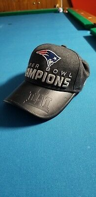New England Patriots New Era 9Forty Super Bowl Li 51 Champion Locker Room  Hat