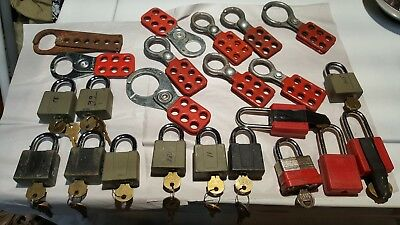 Lock out tag out - Lock out kit LOTO electrical safety