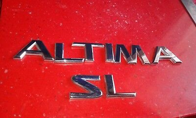 "03-05 Nissan /"" Altima 2.5S /"" Trunk Decorative Emblem 84894-8J000 Logo Decals Set"