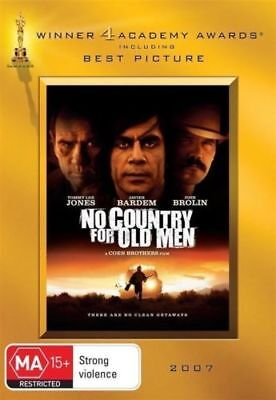 As New NO COUNTRY FOR OLD MEN DVD (Region 4) Javier Bardem