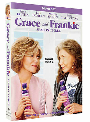 Grace And Frankie Season 3 - BRAND NEW & SEALED + FREE PRIORITY POST