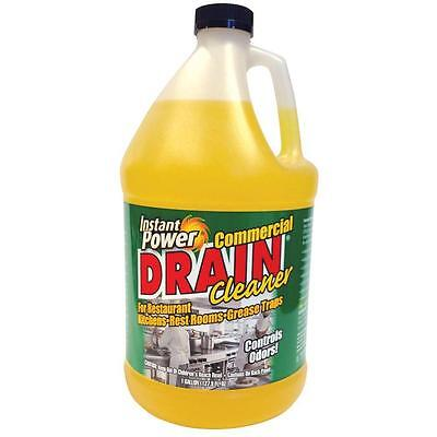 Commercial Drain Cleaner Liquid Kitchen Restroom Drain Sink Grease Traps