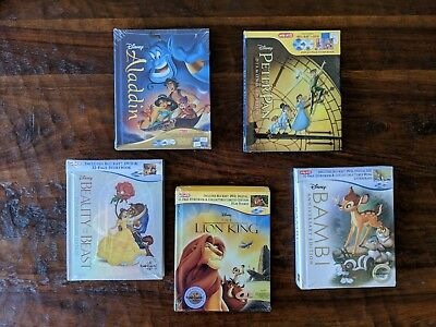 Bambi Peter Pan The Lion King Beauty and Beast Aladdin Target Exclusive Blu-ray