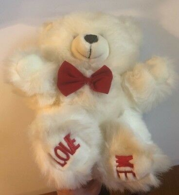 Happy Valentines Day Teddy Bear Valentines Gift Mothers Day Dia de San Valentin
