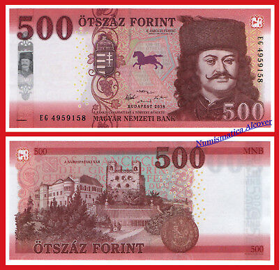 HUNGRIA HUNGARY 500 Forint 2019 NEW DESIGN Pick NEW SC / UNC