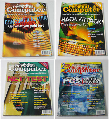 Australian Personal Computer (APC) Magazine (4 Issues from 1997)