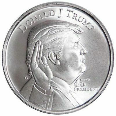 Donald Trump - 45th President 1oz .999 Silver Bullion Round - Elemetal Mint