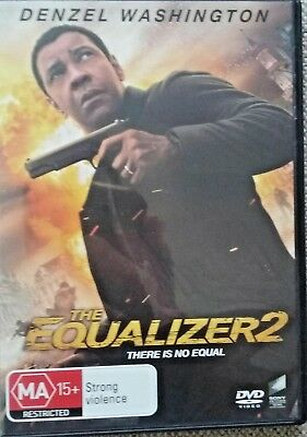 The Equalizer 2 Denzel Washington 2018 Aust Release Region 4 Dvd New Sealed