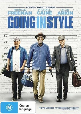 Going In Style (DVD, 2017) like new Micheal Caine