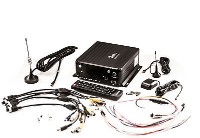 iC9700MDVR HYBRID 3G GPS WiFi TAXI CCTV DVR GPS HARD DRIVE & SD STORAGE KEY LOCK