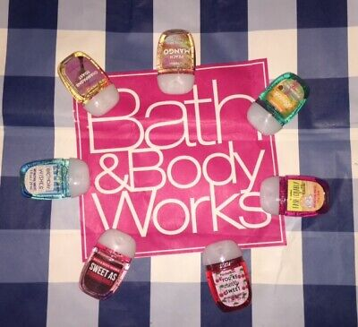 (BUY 6 GET 1 FREE) Bath and Body Works PocketBac Hand Sanitizers