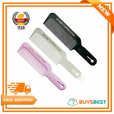 Andis Professional Barber Clipper Flat-Top Comb ( Black/White/Pink )