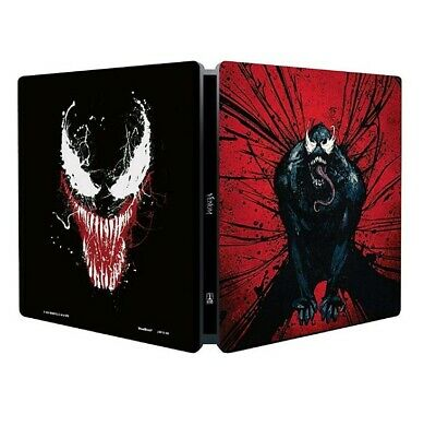 Venom Steelbook Limited Blu Ray + 4k ultra hd 2 dischi
