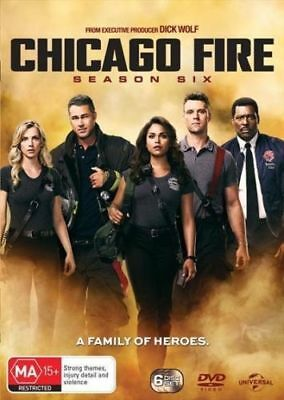 Chicago Fire Season 6 Australian Release Region 4 Brand New & Sealed
