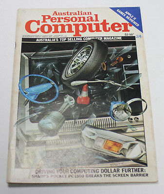 Australian Personal Computer (APC) Magazine (1 Issue from July 1982)