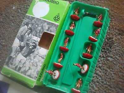Boxed Subbuteo Football Heavyweight H W Team Wales Ref 319