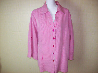 5bcd01898dd CATO WOMENS BLOUSE Shirt Plus Size 22 24W Pink for Spring -  12.00 ...