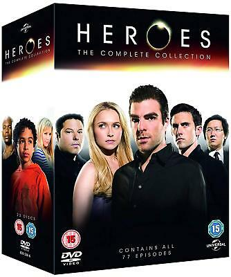 Heroes: The Complete Series 1-4 DVD Box Set Like New Condition Free Shipping