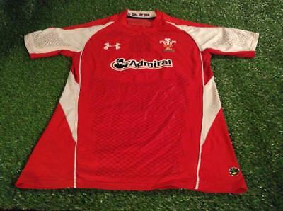 wales welsh rugby union football big xxl 2xl mans tight fit under armour jersey