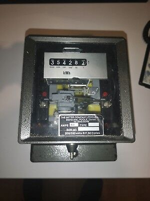 3 phase electric meter. used old style