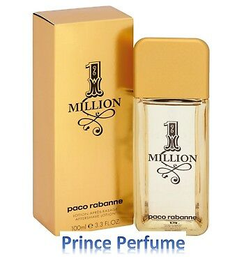 1 MILLION PACO RABANNE AFTER SHAVE LOTION - 100 ml