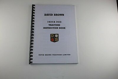 """The David Brown 1410 and 1412 Pre """"Q"""" Cab 1974 (9-5401)"""