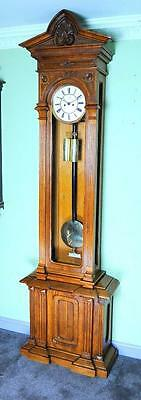 Lenzkirch Striking Floor Standing Vienna Regulator  Clock